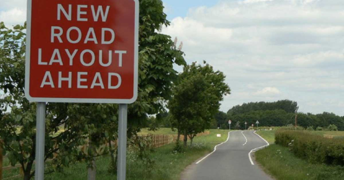 The new road ahead